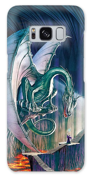 Dragon Galaxy S8 Case - Dragon Lair With Stairs by The Dragon Chronicles - Robin Ko