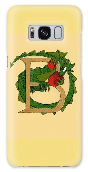 Dragon Letter B Galaxy Case by Donna Huntriss