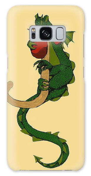 Dragon Letter J Galaxy Case
