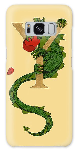 Dragon Letter Y Galaxy Case