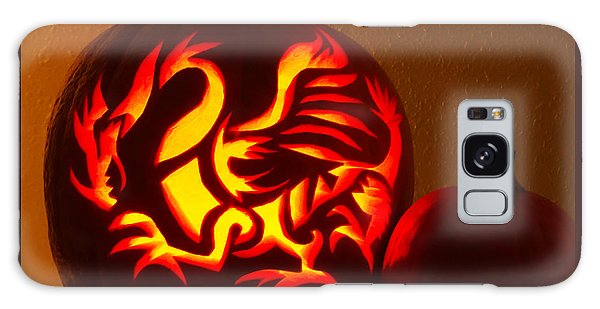 Dragon Light Of Fall Galaxy Case