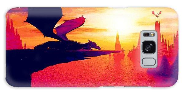 Awesome Dragon Galaxy Case by David Mckinney