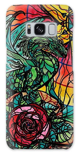 Dragon Galaxy S8 Case - Dragon by Teal Eye  Print Store