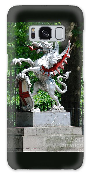 Dragon With St George Shield Galaxy Case