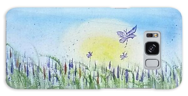 Dragonflies In The Tullies Galaxy Case by Carol Duarte