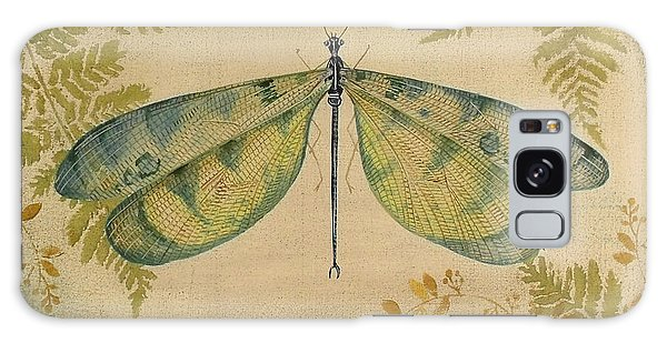 Dragonfly Among The Ferns-1 Galaxy Case by Jean Plout