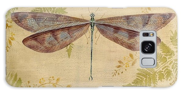 Dragonfly Among The Ferns-3 Galaxy Case by Jean Plout