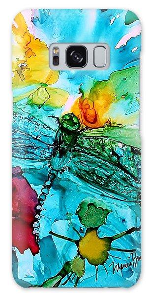 Dragonfly Blues Galaxy Case