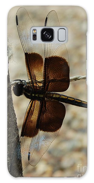 Dragonfly Brown Galaxy Case