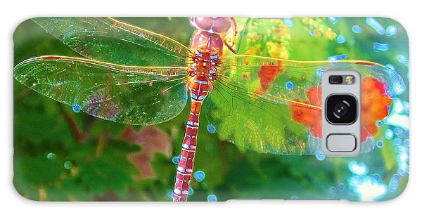 Dragonfly Galaxy Case by Cathy Long