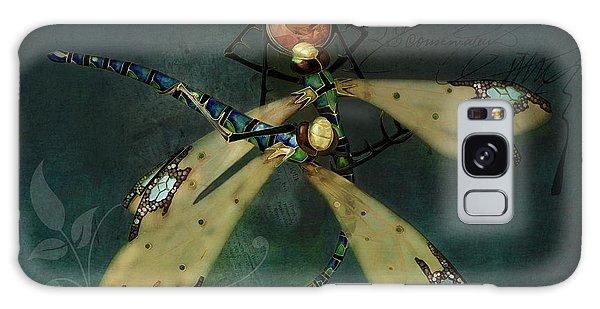 Dragonfly Romance Galaxy Case