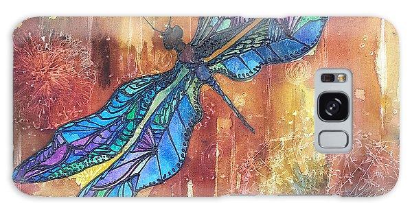 Dragonfly Rust Galaxy Case by Christy  Freeman