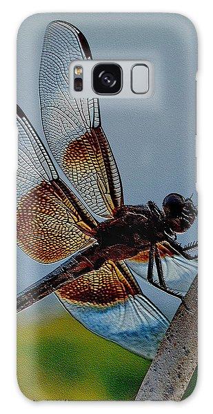 Dragonfly Sky Print Galaxy Case