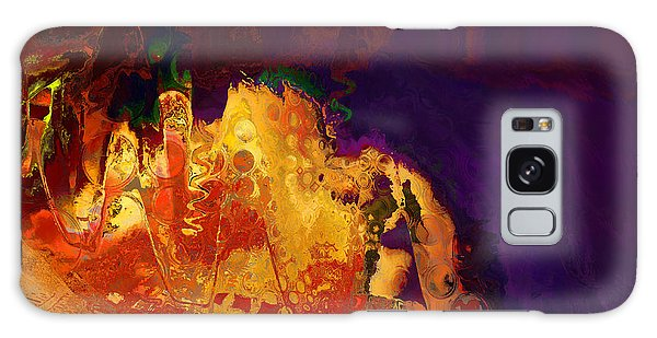 Dragon's Teeth Cave Galaxy Case by Constance Krejci
