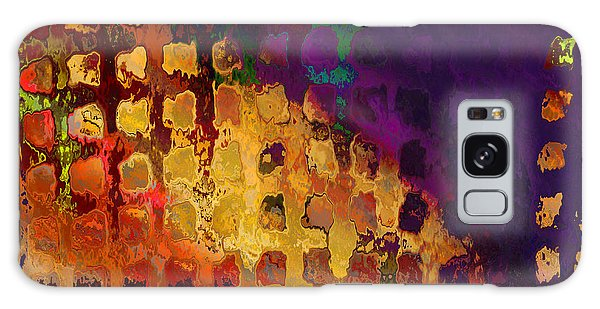 Dragon's Teeth Fire Grate Galaxy Case by Constance Krejci