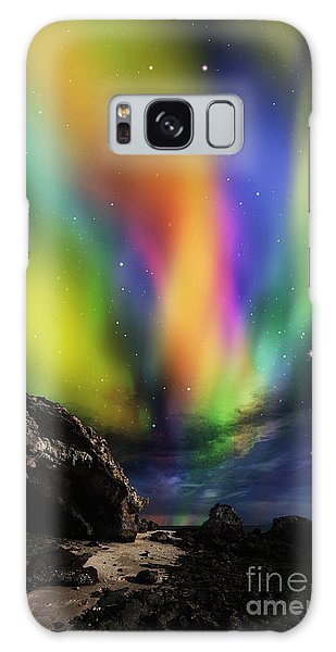 Dramatic Aurora Galaxy Case by Atiketta Sangasaeng