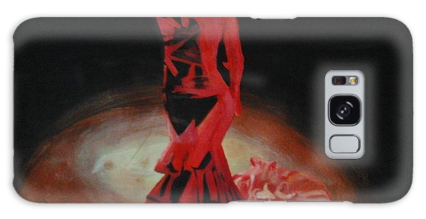 Dramatic In Scarlet Galaxy Case by Cherise Foster