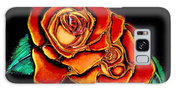 Dramatic Roses Galaxy Case