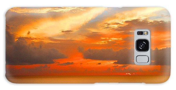 Dramatic Sunset Galaxy Case