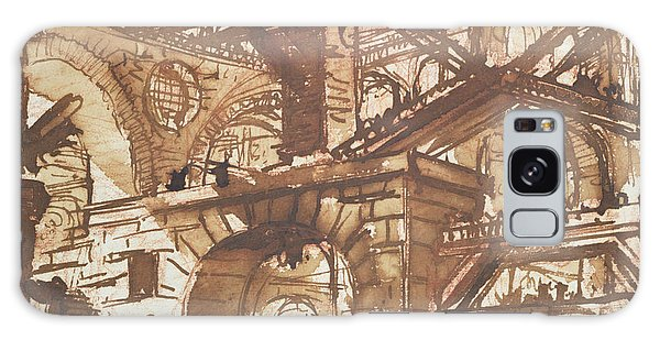 Dungeon Galaxy Case - Drawing Of An Imaginary Prison by Giovanni Battista Piranesi