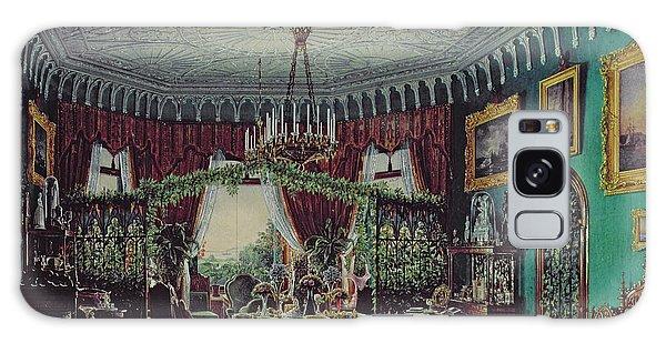 Bay Galaxy Case - Drawing Room Of Empress Alexandra Feodorovna by Eduard Hau