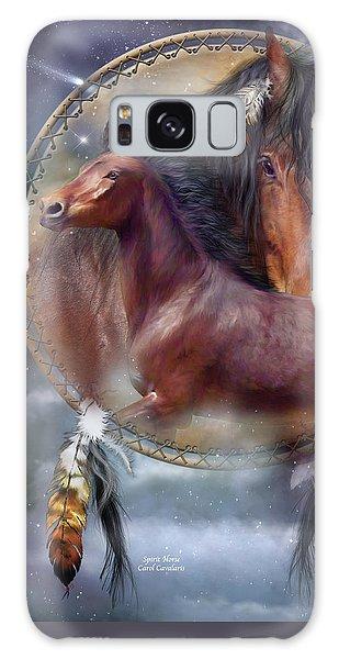 Dream Catcher - Spirit Horse Galaxy Case
