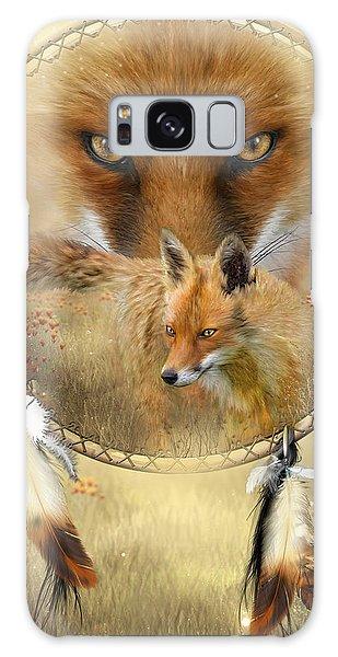 Dream Catcher- Spirit Of The Red Fox Galaxy Case