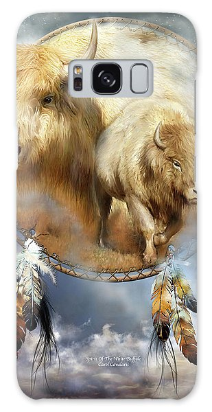Dream Catcher - Spirit Of The White Buffalo Galaxy Case