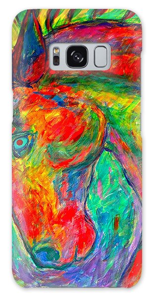 Dream Horse Galaxy Case