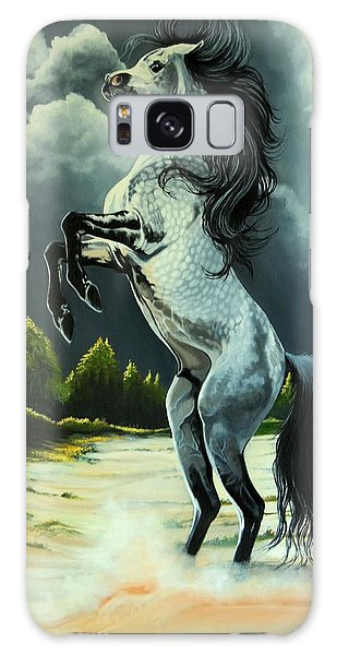 Dream Horse Series 262 - The Lost Stallion Revealed Galaxy Case by Cheryl Poland