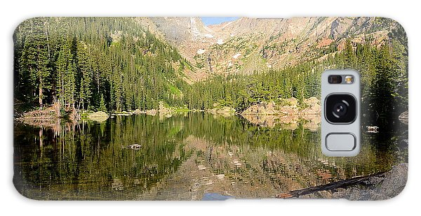Dream Lake Reflection Galaxy Case