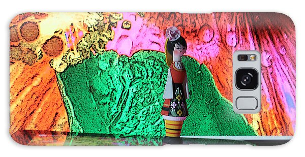 Galaxy Case featuring the photograph Dream Walking by Dart and Suze Humeston