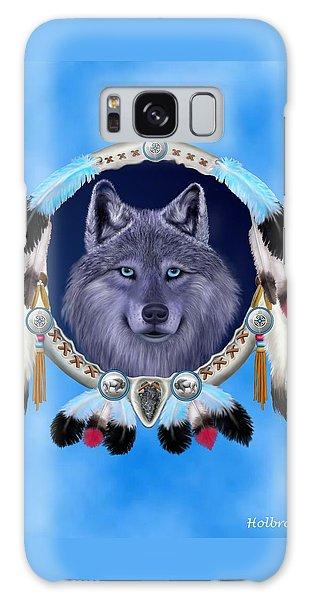 Dream Wolf Galaxy Case by Glenn Holbrook