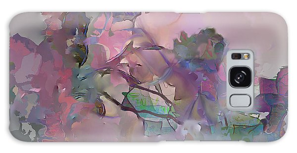 Dreaming Of A Rose Garden Galaxy Case by Ursula Freer
