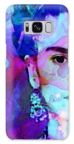 Dreaming Of Frida - Art By Sharon Cummings Galaxy Case