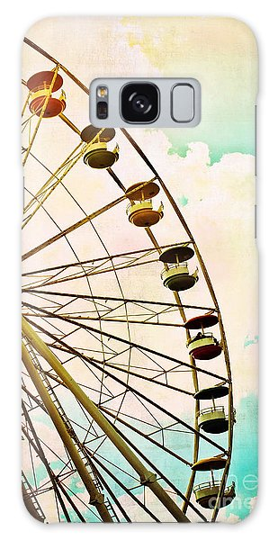 Dreaming Of Summer - Ferris Wheel Galaxy Case by Colleen Kammerer