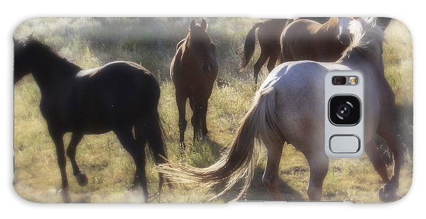Dreaming Wild Horses Galaxy Case
