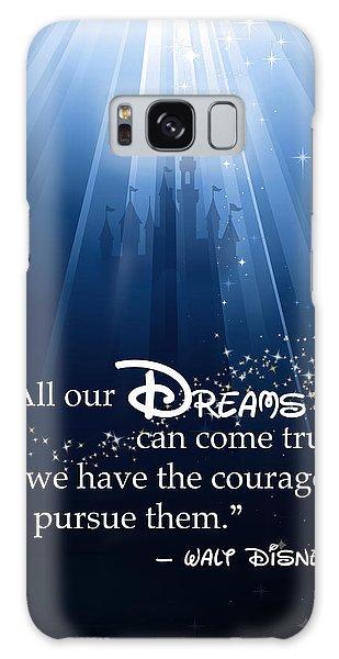 Walt Disney Galaxy Case - Dreams Can Come True by Nancy Ingersoll