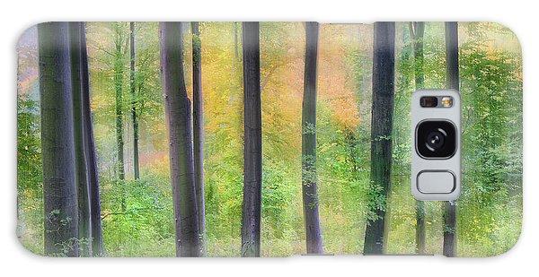 Green Leaf Galaxy Case - Dreamy by Burger Jochen