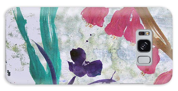 Dreamy Day Flowers Galaxy Case