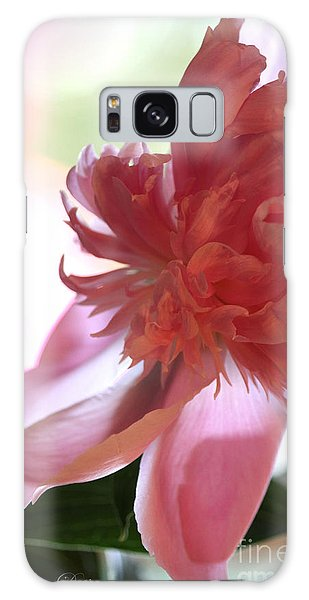 Dreamy Peonie Galaxy Case