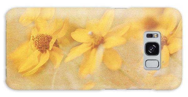 Dreamy Yellow Coreopsis Galaxy Case