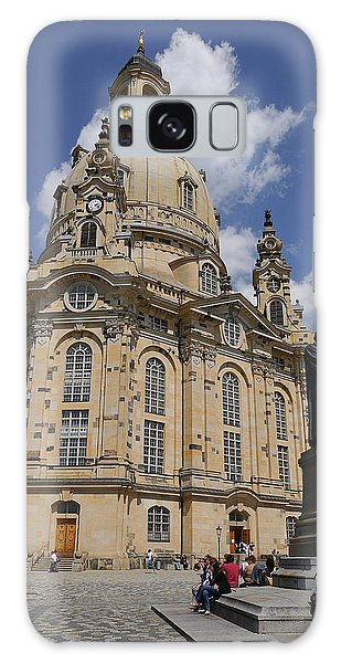Dresden- Frauenkirche Galaxy Case