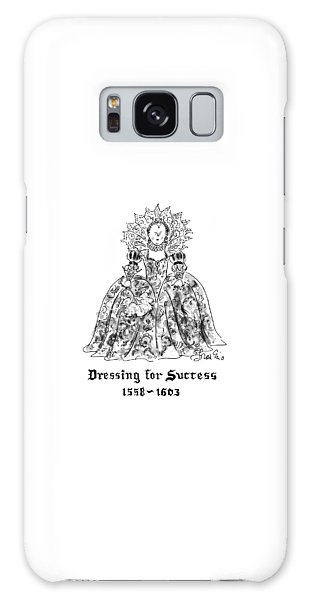 Decorative Galaxy Case - Dressing For Success 1558-1603 by Edward Frascino