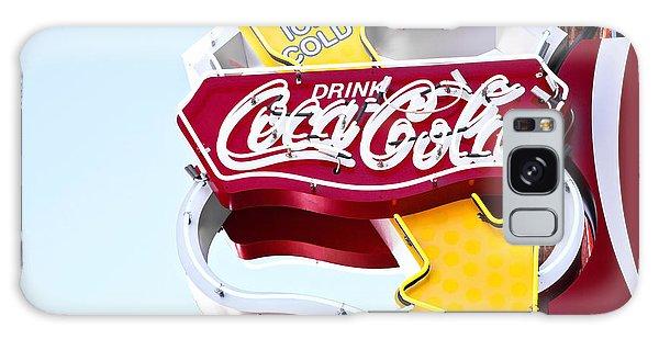 Drink Coca Cola Vintage Neon Sign Galaxy Case