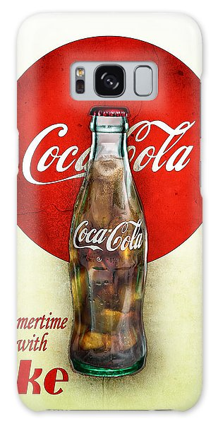 Drink Ice Cold Coke 2 Galaxy Case