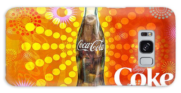 Drink Ice Cold Coke 4 Galaxy Case
