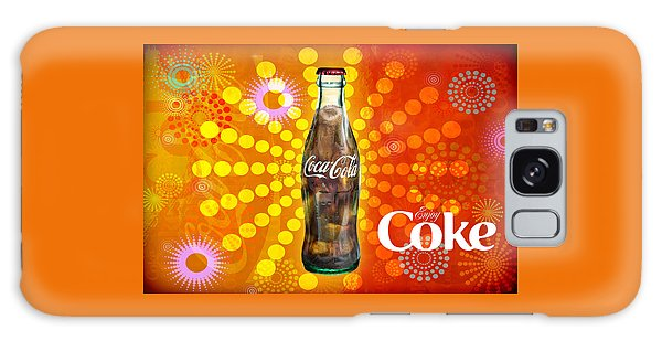 Galaxy Case featuring the photograph Drink Ice Cold Coke 4 by James Sage