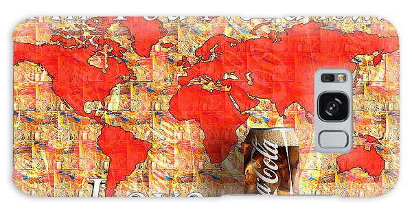 Galaxy Case featuring the photograph Drink Ice Cold Coke 5 by James Sage