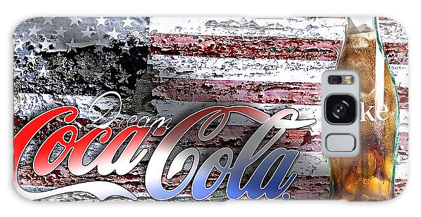 Galaxy Case featuring the photograph Drink Ice Cold Coke 6 by James Sage